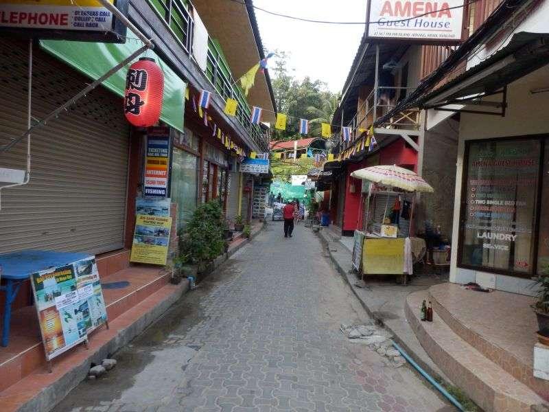 Morgens um 08.00 Uhr auf Koh Phi Phi