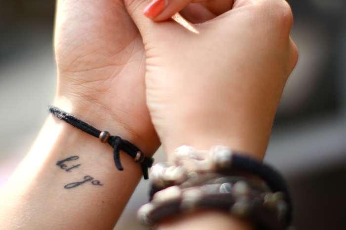 татуировки на запястье фото
