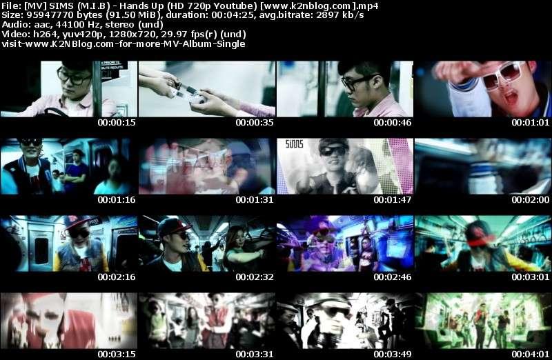 SIMS (M.I.B) - Hands Up (HD 720p Youtube) mv thumbnail